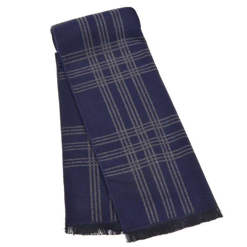 Winter men striped scarves and shawls Luxury india brand blanket scarf foulard wrap men business bandana echarpe tassels(China (Mainland))
