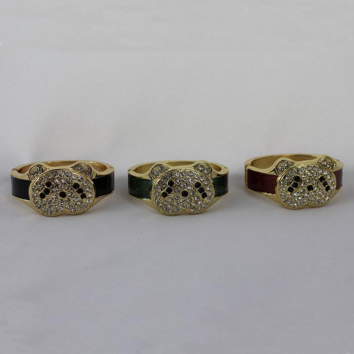 Fashion Unisex Alloy/Rhinestone Animal Charm Bracelets Party/Casual Free Shipping Retail/Wholesale 054(China (Mainland))