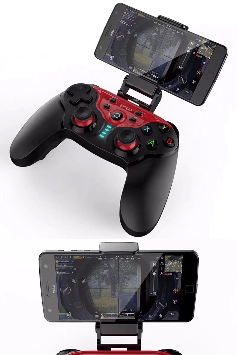 Ipega Pg 9088 Future Soldier Bluetooth Wireless Gamepad Gaming Mobile Controller 30 For Android And Ios 9021 Black Standby Time Days