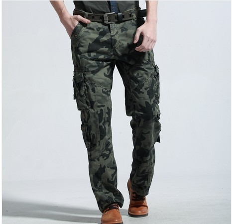 Cargo Pants With Lots Of Pockets