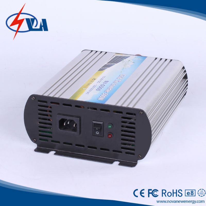 500w pure sine wave solar power on grid power inverter high efficiency micro grid tie inverter(China (Mainland))