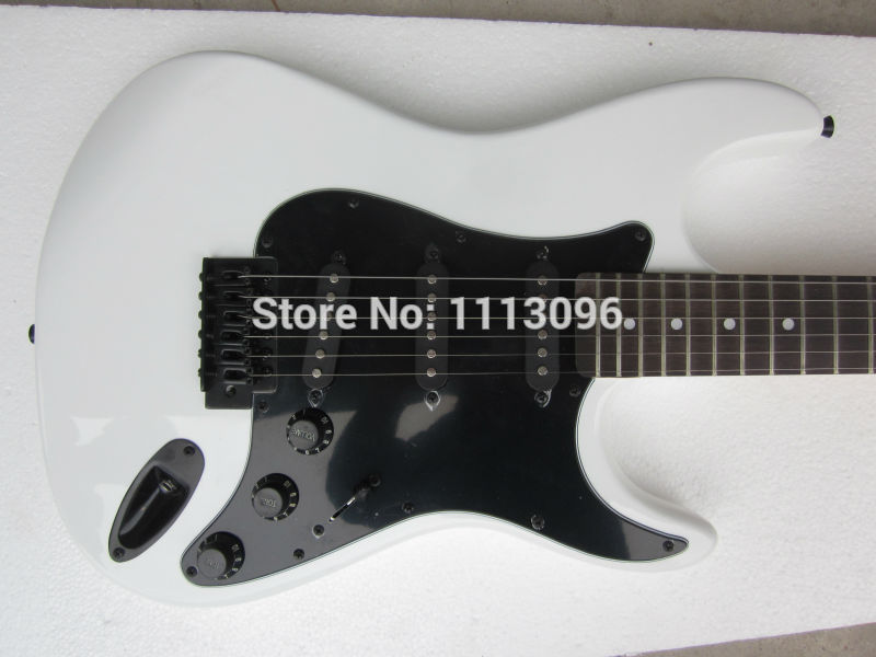 Free shipping wholsale ERMIK ST WHITE COLOR BRAND electric guitar/guitar china(China (Mainland))