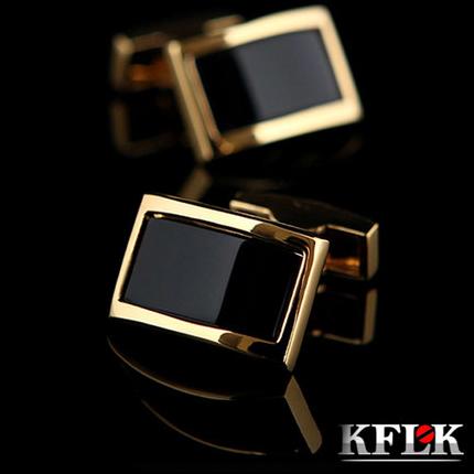 KFLK Luxury shirt cufflinks for men's Brand cuff buttons Gold cuff links gemelos High Quality wedding abotoaduras Jewelry(China (Mainland))
