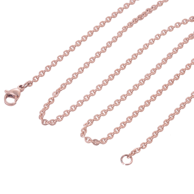 Гаджет  Width 2.4mm Three Colors Tiny Stainless Steel Chain Necklace for Glass Floating Memory Charm Locket Pendant Necklace Chain None Ювелирные изделия и часы