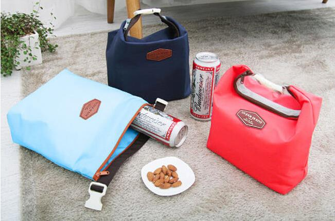 Picnic Insulated Lunch Bag Large Built Box Container Cooler Thermal Waterproof Tote Lunchbox BB117-SZ+(China (Mainland))