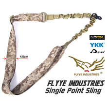Military Spec AOR1 Camo Tactical Rifle Single Sling FLYYE FY-SL-S001 Single Point Sling(China (Mainland))