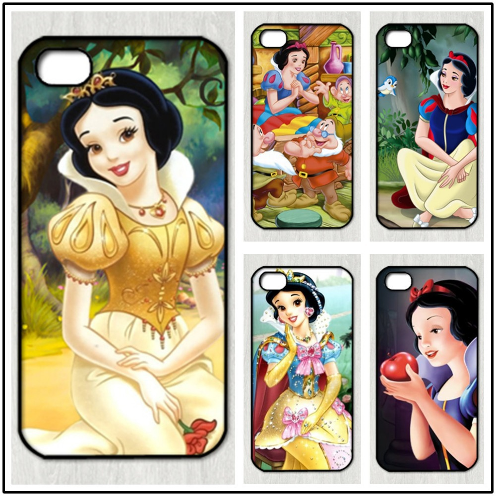Snow White and Seven Dwarfs fashion original cell phone case for iphone 4 4S 5 5S 5C SE 6 plus 6s plus 7 7 plus(China (Mainland))