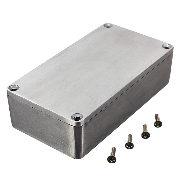 1590B Aluminium Metal Stomp Box Case Enclosure Guitar Effect Pedal 112(L)x60(W)x31(H)mm Free shipping(China (Mainland))