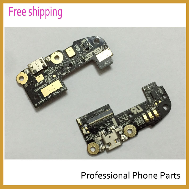 10 pcs/lot Origina For Asus ZenFone 2 ZE550ML ZE551ML dock connector flex cable USB Charger charging Port Replacement With Logo