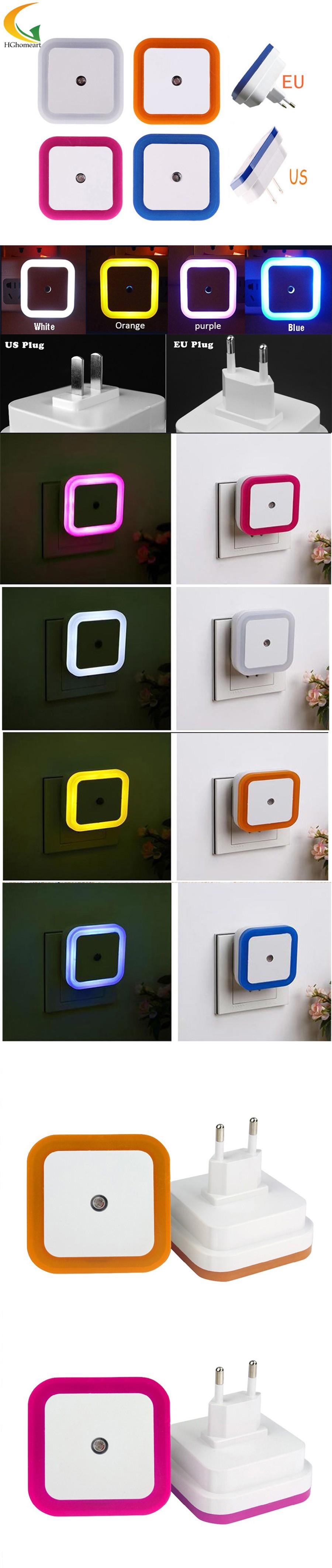 baby room LED night light with motion sensor light EU US ...