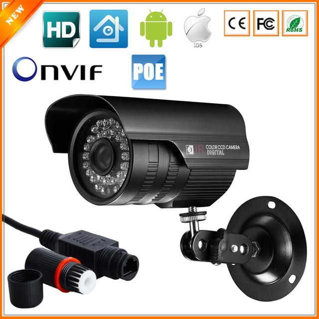 720p megapixel ip camera outdoor waterproof poe camera ip surveillance