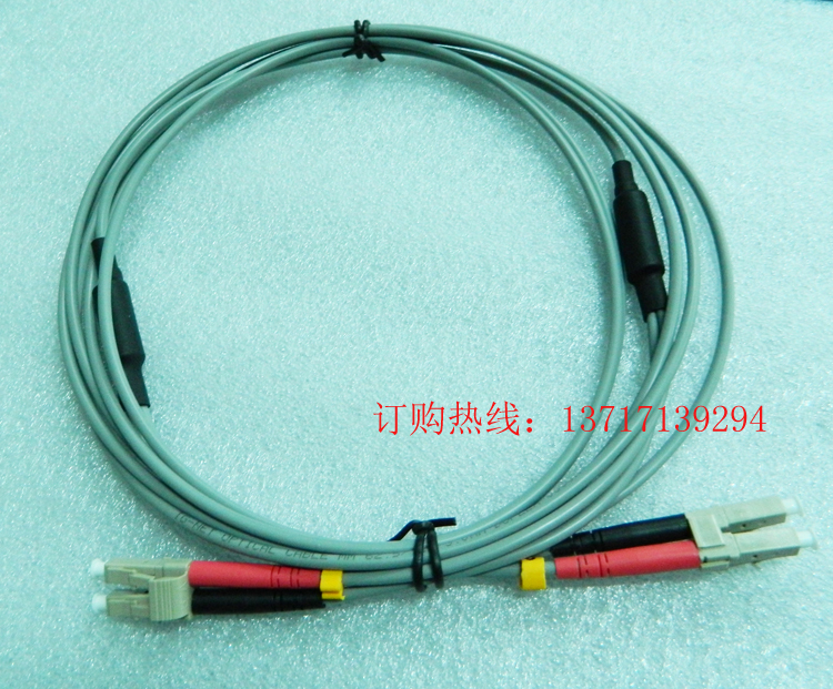 PVC armored gray duplex gigabit multimode fiber jumpers 62.5 50/125 3M Shenzhen can be delivered to your door(China (Mainland))