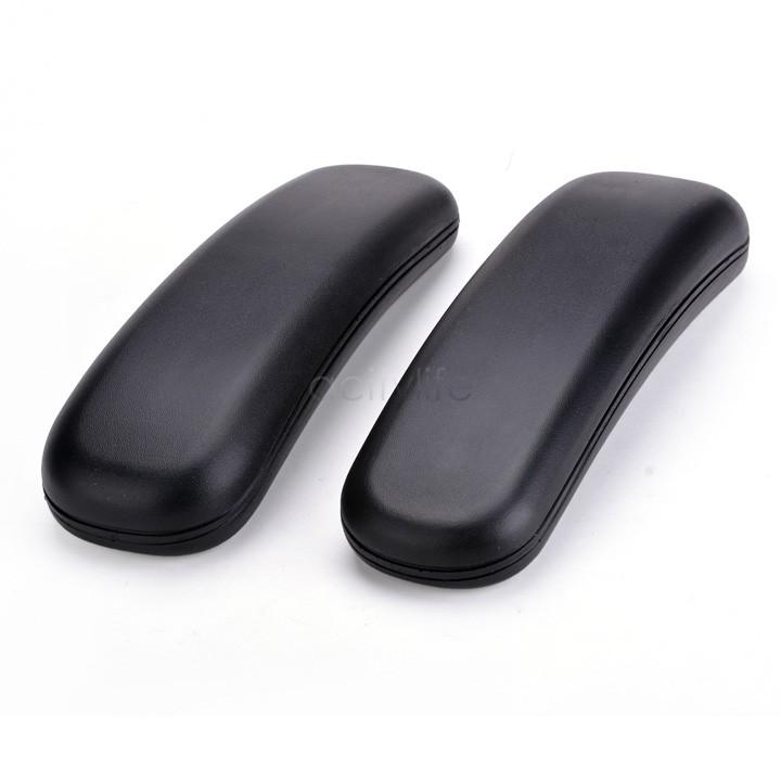 Hot Sale Chair Replacement Parts 2 Pcs Arm Pads Armrest Office Supplies Black 22(China (Mainland))