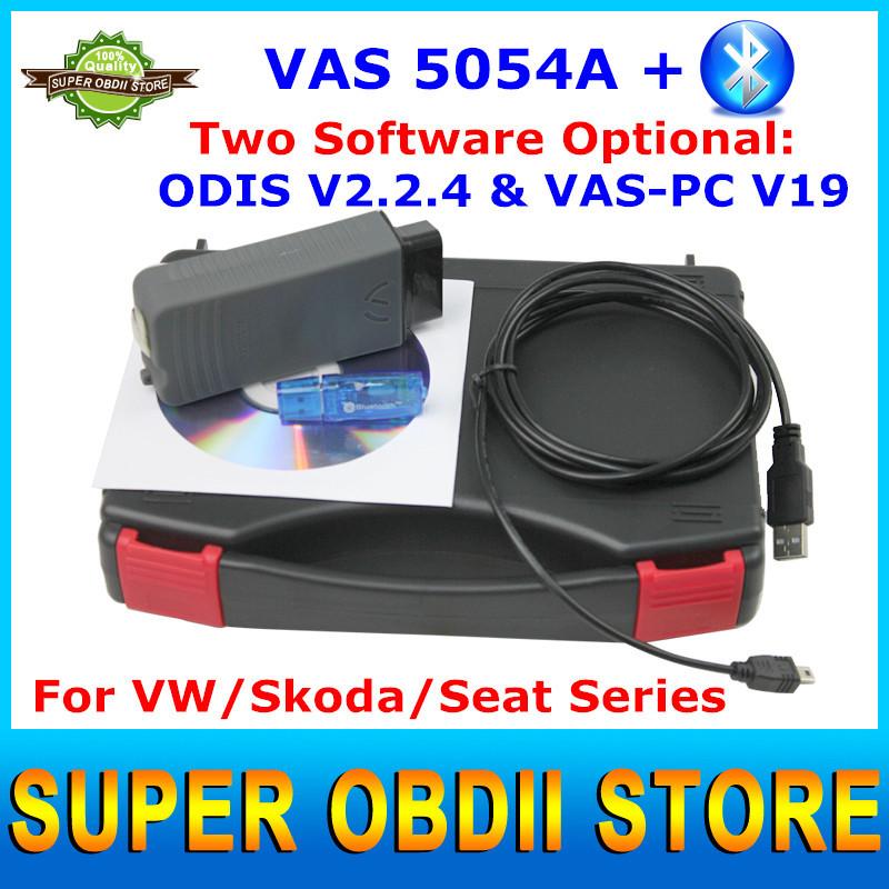 2015 Newest Universal Car Diagnostic Tool VAS 5054A PC V19 ODIS V2.2.4 Software Optional VAS5054A For VW/Skoda/Seat Series(China (Mainland))