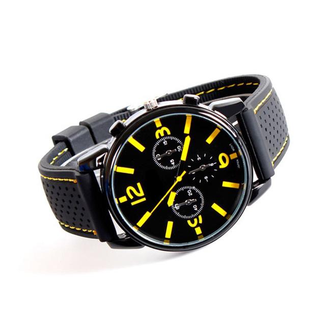 Zegarek męski w sportowym stylu sylikonowa opaska różne kolory