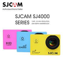 SJCAM SJ4000 Series SJ4000/SJ4000 WIFI/SJ4000 Plus 2K HD Video Resolution Action Waterproof Camera 1080P Sport Camcorder DV