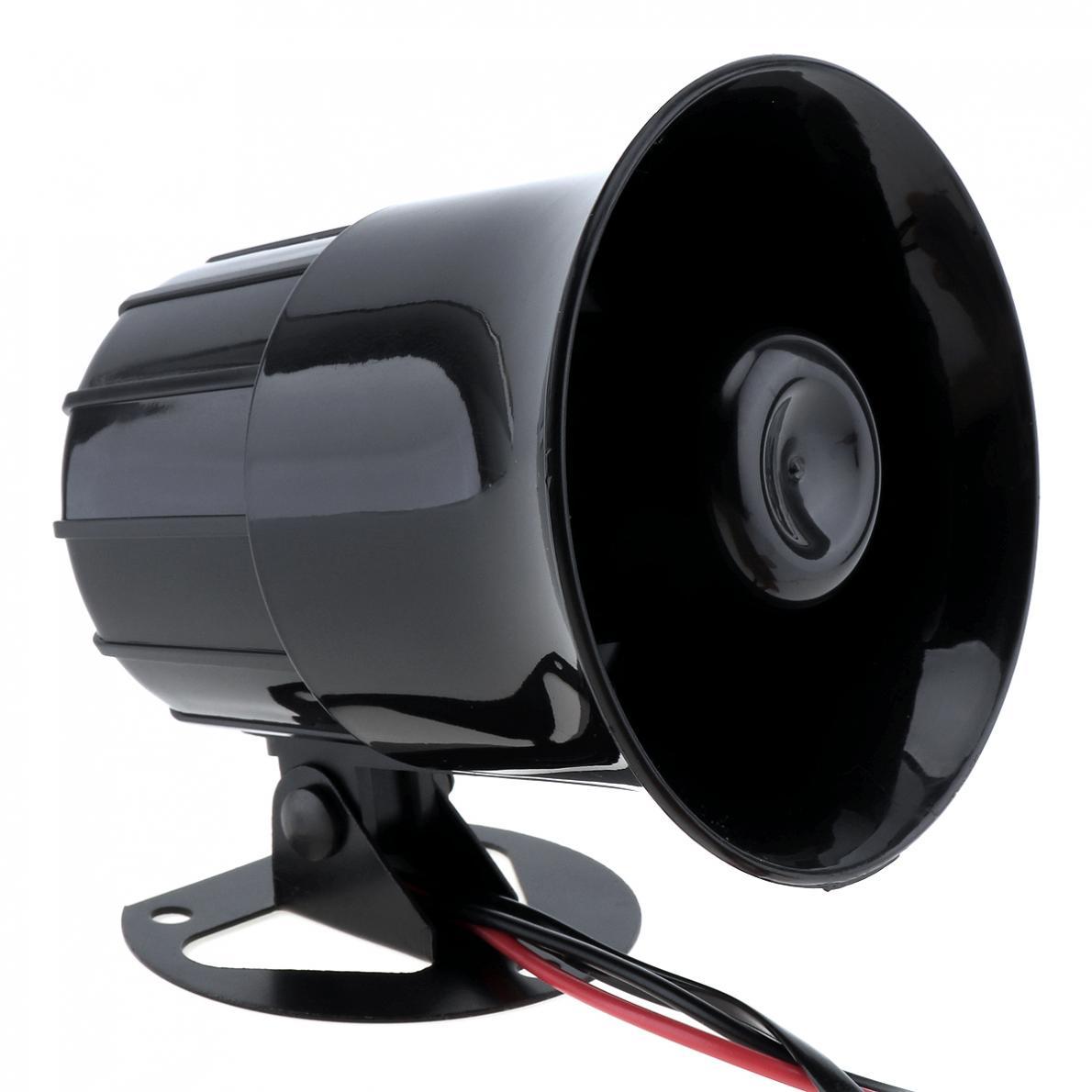 Siren Horn 30w 12v 3 Car Sound Speaker Super Loud 105db Multitone 20373 Description 10 L2