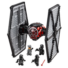 2016 New Star Wars First Order Special Forces TIE Fighter Figure Toys building blocks marvel magformers compatible with legoe