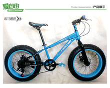 20'' Fat Bike,3.0/4.0 Width Wheel,7 Speeds,TOP Derailleur+Disc Brakes.(China (Mainland))