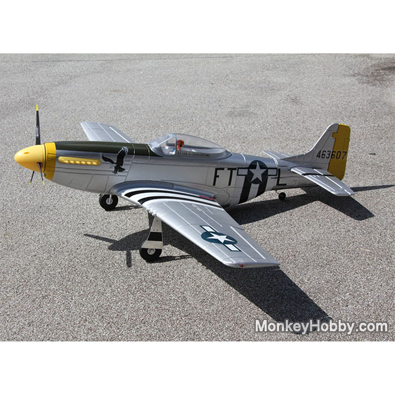 Dynam RC warbird P51 P51D Mustang PNP DY8939 remote control RC plane