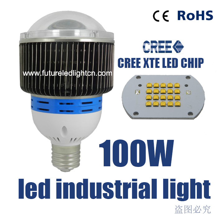 100W LED high bay light CREE factory lamp led industrial ...