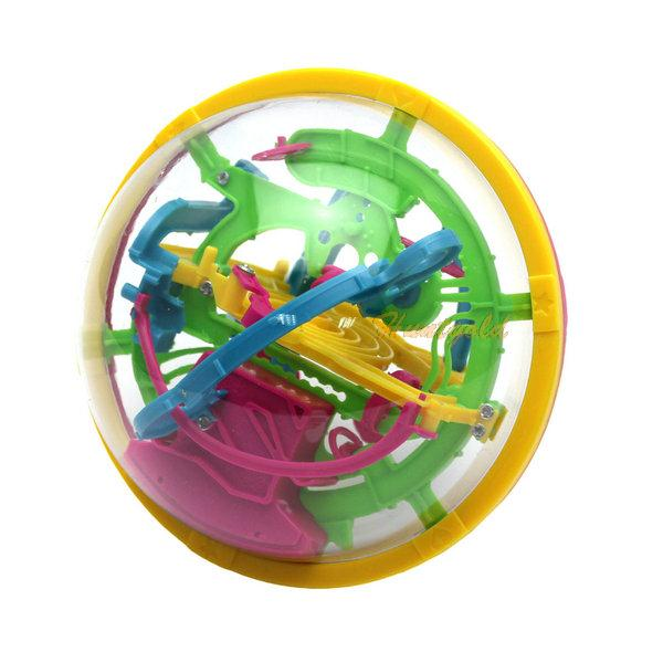2015 New Arrivals 3D Magic Intellect Maze ball Puzzle Game Educations for Kids IQ Trainer (China (Mainland))