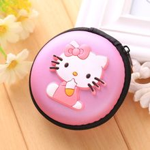 Women Kawaii Animals Cartoon Stitch Hello Kitty Silicone Coin Purse Key kids Girls Wallet Earphone Organizer Box Bags(China (Mainland))