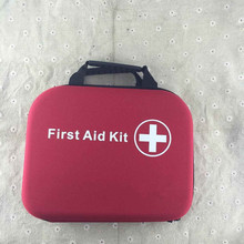 wholesale outdoor hand carry empty EVA first aid kit 27*22*7cm 200pcs(China (Mainland))