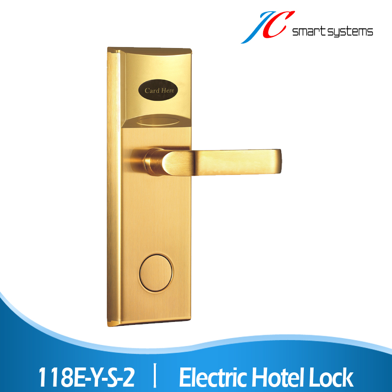 Unique design hotel door locks security keyless lock swiping card for hotel access control system(China (Mainland))