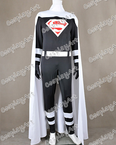 Superman Clark Joseph Kent Cosplay Costume Jumpsuit Suit White Cape Outfit Great for Halloween High Quality Fast Shipping(China (Mainland))