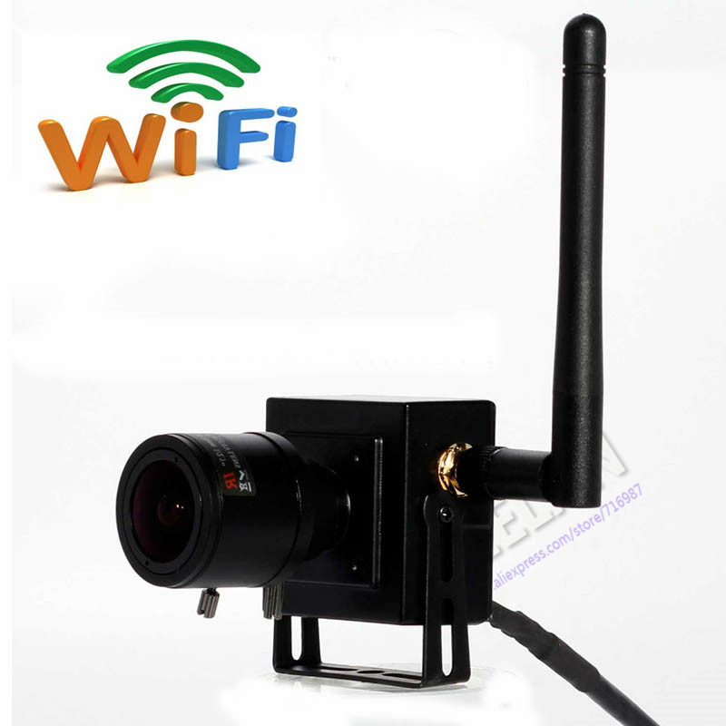 ONVIF 720P 2.8-12mm Manual Varifocal Zoom Lens HD Mini Wifi IP Wireless Camera P2P Plug Play Support Android iPhone PC - Shenzhen Seelan Electronics Co. Ltd. store