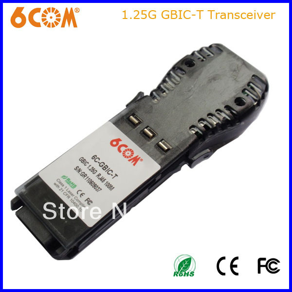 6C-GBIC-T 1.25G Cooper GBIC Nortel compatible AA1419041(China (Mainland))