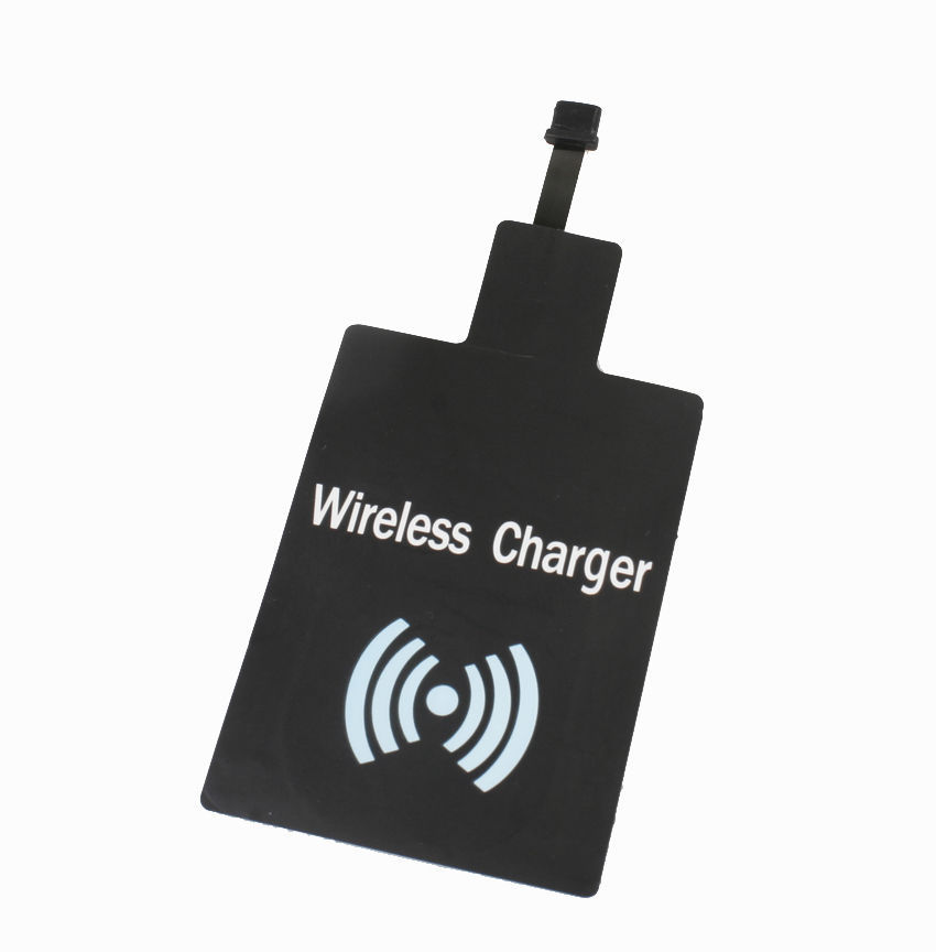 Black Universal Qi Wireless Charder Receiver Samsung HTC Lenovo Huawei Andriod Smart Phones Charging - China Super Goods store