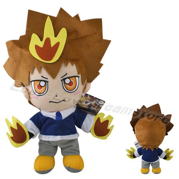 Плюшевая игрушка -- ! Katekyo Hitman Reborn 34 /13.6  katekyo hitman reborn school bags anime rokudou mukuro hibari canvas messenger bag