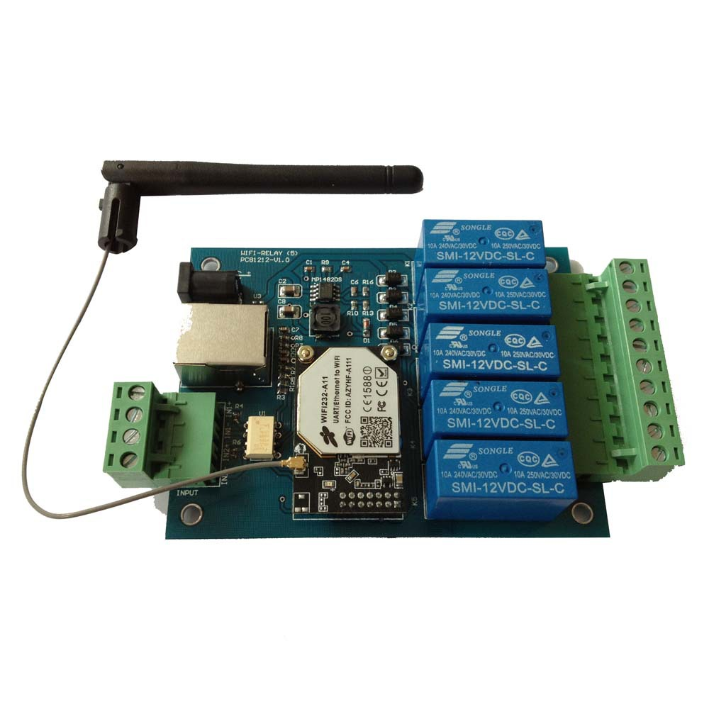 WIFI relay remote control board with wifi module on board<br><br>Aliexpress