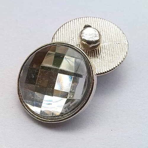 Hot sale 18 mm faceted crystal snaps Faceted Glass buttons fit snaps earring buttons ring K1001<br><br>Aliexpress