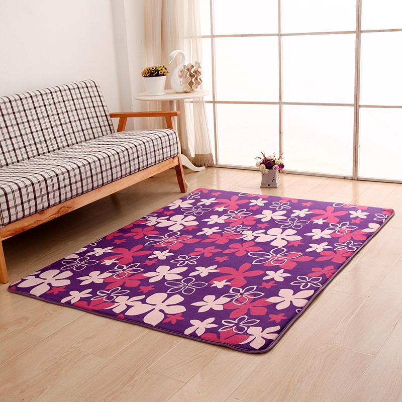 16 Colors Coral velvet Soft Carpet Area Rug Slip Resistant Door Floor Mat For Bedroom Livingroom not fade not drop hair