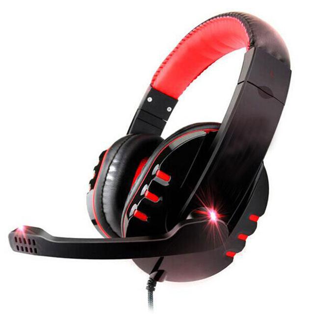 Высокое качество стерео бас компьютерная гарнитура наушники с микрофоном для геймер компьютер
