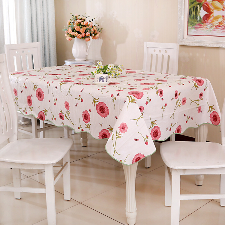 2015 HOT SALE Mutil Size Waterproof and oilproof PVC table cloth no need clean more design and color tablecloth tea table cloth(China (Mainland))