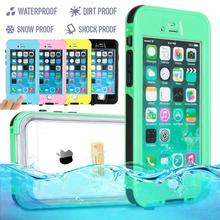 For iPhone 6 6s Waterproof case 6Plus /6s plus life Water proof case Shockproof Dirt Proof phone Cases for i phone 6 cover(China (Mainland))