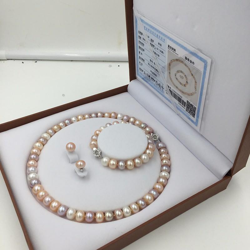 Sinya natural freshwater pearls jewlery set  (8)