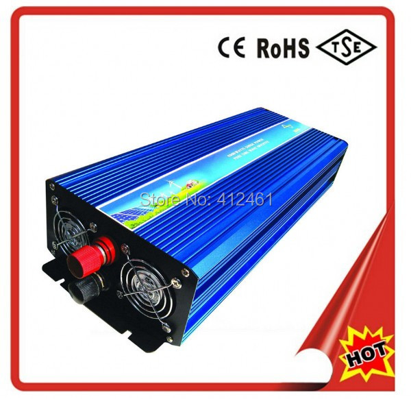 5000W 12VDC 110V/120V/220V/230VAC 50Hz/60Hz Peak Power 10000W Off-grid Pure Sine Wave Solar Inverter or Wind Inverter<br><br>Aliexpress