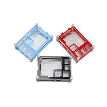 Buy Raspberry Pi 3 Acrylic Case Cooling Fan Hole Colorful Shell Transparent Cover Acrylic Enclosure Box Raspberry Pi 2 for $4.99 in AliExpress store