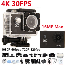 "Buy Ultra HD 4K Sport Camera Allwinner V3 4K/30fps WiFi Action Camera 2.0"" 170D Waterproof Pro mini camera Helmet Cam Camcorder DVR for $40.99 in AliExpress store"