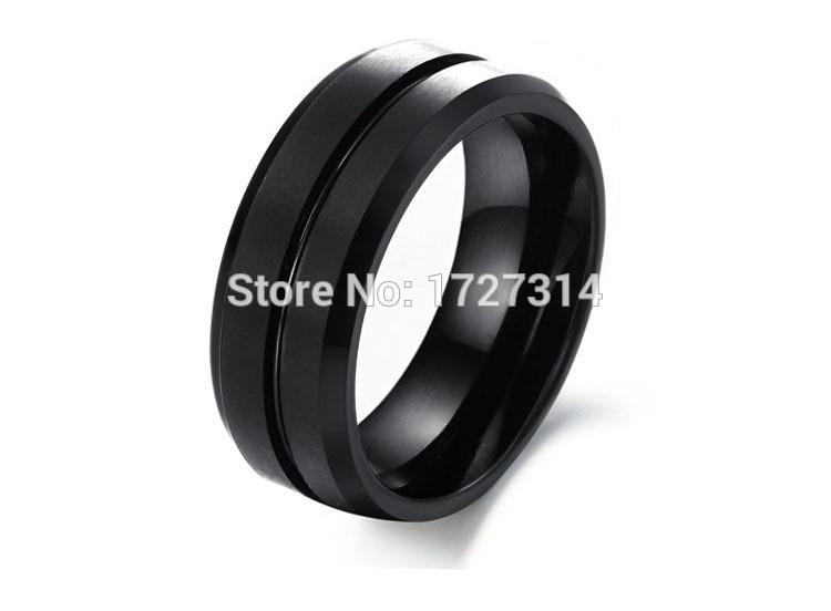 wholesale tungsten carbide slotted matte black tungsten