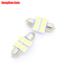 Buy 1X 24V 31mm 6 5050 Car LED Map Door Interior Reading Light Bulb Auto Automobile C5W C10W Licence Plate Festoon Dome Light Xenon for $1.11 in AliExpress store
