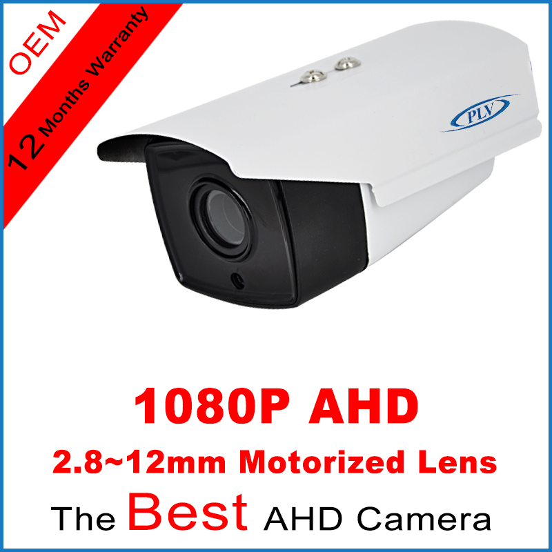 4pcs Array Led IR-Cut Security Surveillance Outdoor AHD CCTV Camera 1080P Sony IMX322 CMOS 2.8-12mm 4x zoom 2MP 60m night vision(China (Mainland))