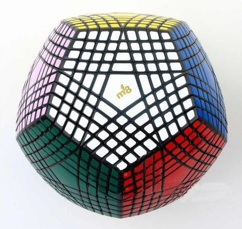 Mf8 Petaminx Cube 9 Layered Megaminx Dodecahedron Puzzle, Sticker Was Not Finished(China (Mainland))
