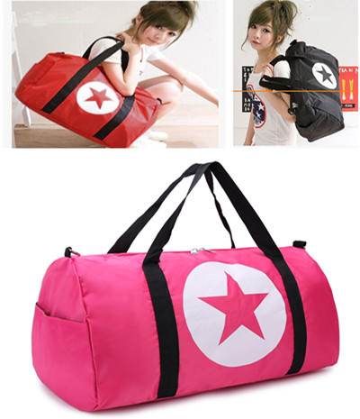 2015 Hot Fashion Casual Large Capacity Sports Travel Gym Bags Gym Nylon Shoulder Bag Messenger Bag(China (Mainland))