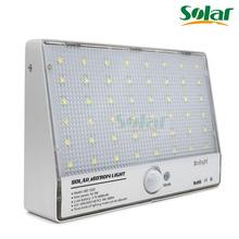 48 LED Solar brillante PIR del cuerpo humano lampara Sensor inducida Home seguridad exterior lúmenes de luz 600 generación 2835SMD luz de la pared(China (Mainland))